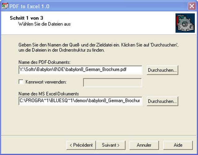 KonvertiertPDF-Dokumente ins richtige Excel-Format