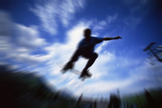 Zoomunschärfe: Dieser Effekt erweckt den Eindruck von Bewegung.