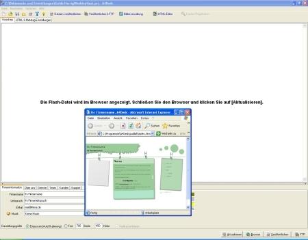 Flash-Websitesoder Multimedia-Präsentation - mit noch mehr Vorlagen für Businesskunden