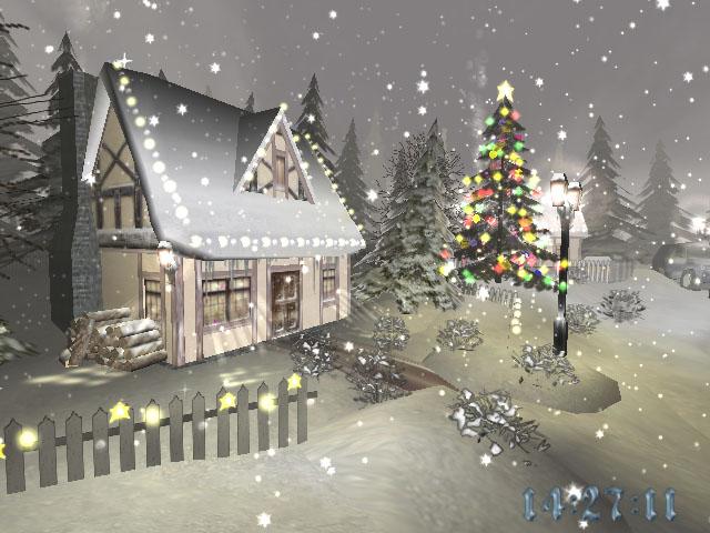 Bringen Sie sich jetzt in Weihnachtsstimmung - mit Weihnachts-Grusskarten und Screensavern