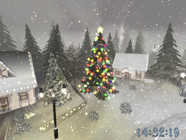 Weihnachtszauber für Ihren Bildschirm
