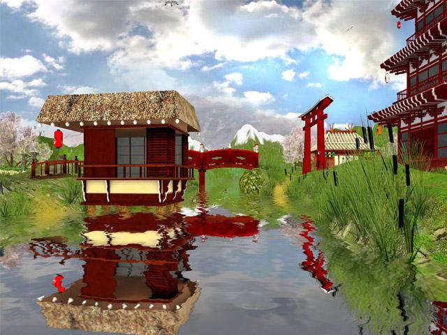 Erleben Sie die beruhigende Schönheit eines japanischen Gartens!
