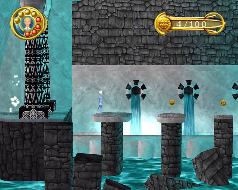 Ein Abenteuerspiel, das speziell für Kinder entwickelt wurde.