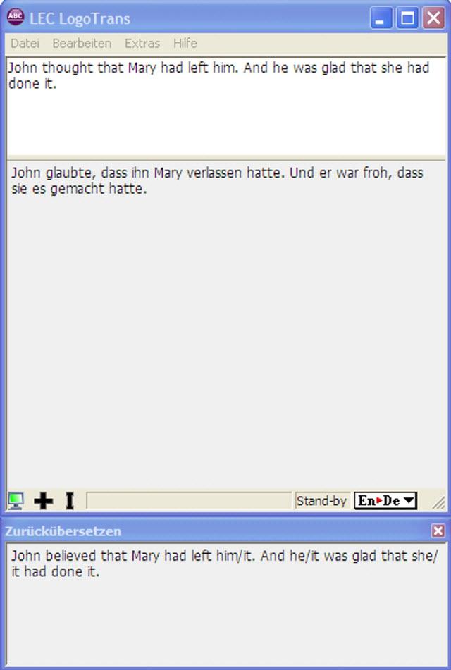 Die einfache & schnelle Englisch-Deutsch-Übersetzungslösung