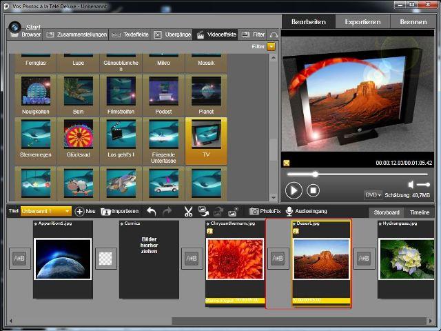 Unvergessliche Dia-Shows aus Ihren Fotos in HD-Qualität