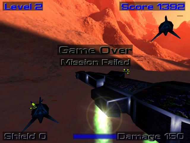 Hellhog XP ist ein 3D Orbital Combat Shooter