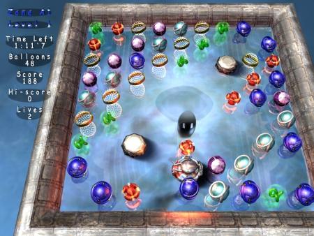 BalloonRain ist ein Knobelspiel der Extra-Klasse.