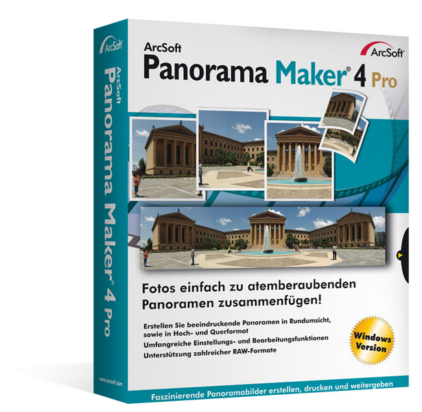 Arcsoft Panorama Maker 4 Pro - Windows Version
