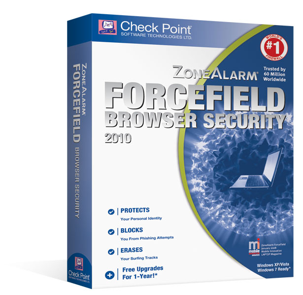 ZoneAlarm ForceField Browser Security 2010