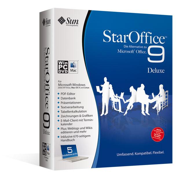 StarOffice™9 Deluxe