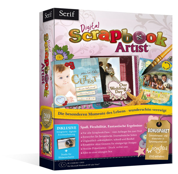 Serif Digital Scrapbook Artist