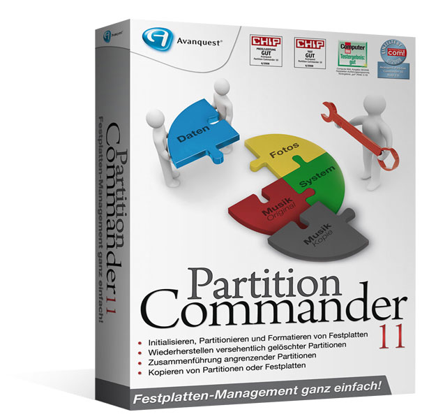 Partition Commander 11