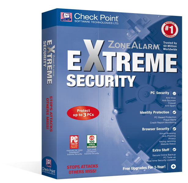 ZoneAlarm Extreme Security 10