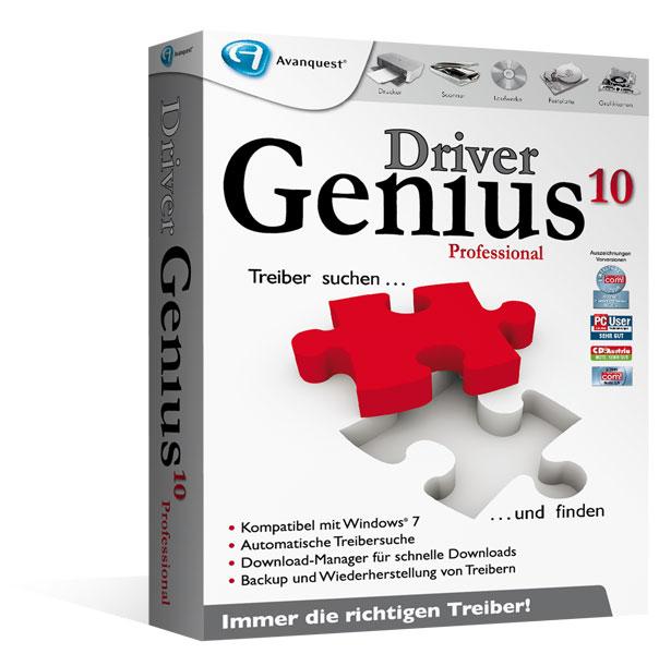 Driver Genius10 - Upgrade von jeder Vorversion