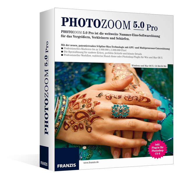 PhotoZoom 5 Pro für Windows®