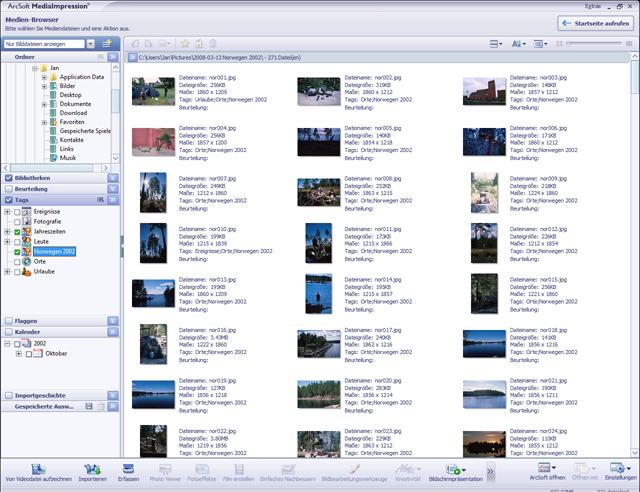 Fotos, Musik und Videos organisieren, bearbeiten und kreativ kombinieren