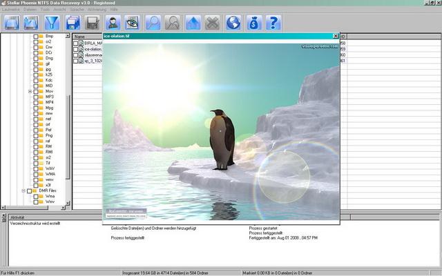 Gelöschte Dateien finden und retten