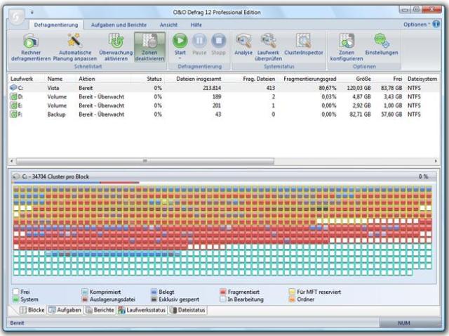 2-in-1 Registry-Optimierung und Festplatten-Defragmentierung -für ein starkes PC-System!