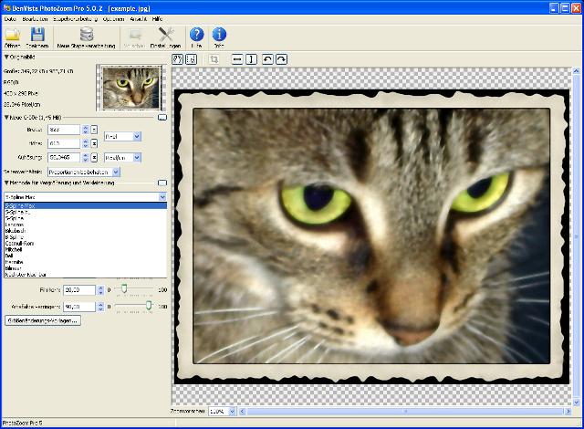 Mikroskopisch präzise Fotobearbeitung ohne Qualitätsverlust