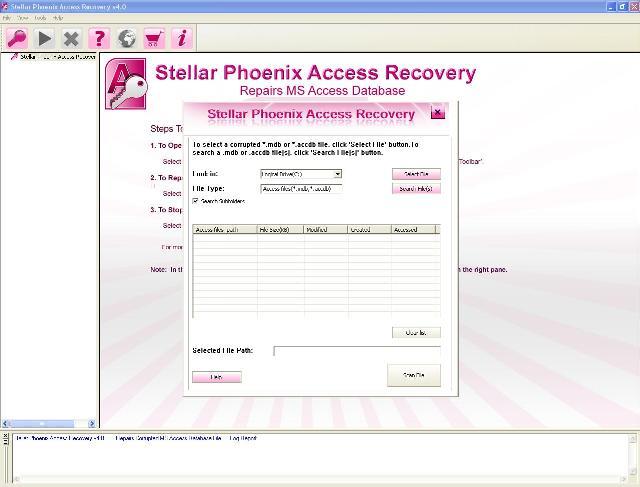 Retten & reparieren Sie verlorene Access Datenbanken