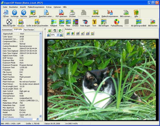 Voransichten für die unterschiedlichsten Dateitypen