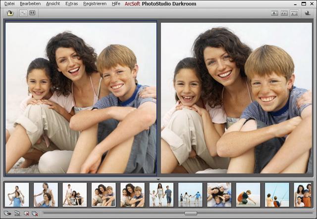 Nicht destruktive Bildbearbeitung für RAW-, JPEG- und TIFF-Bilddateien