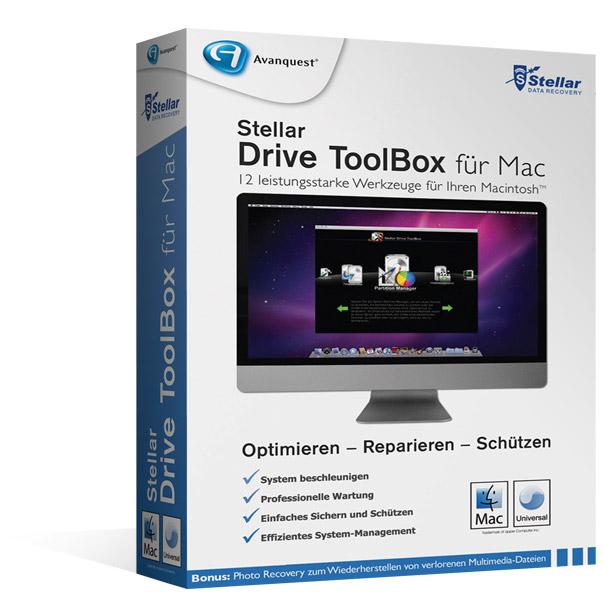 Stellar Drive ToolBox für Mac®