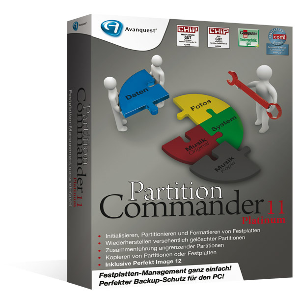 Partition Commander 11 Platinum