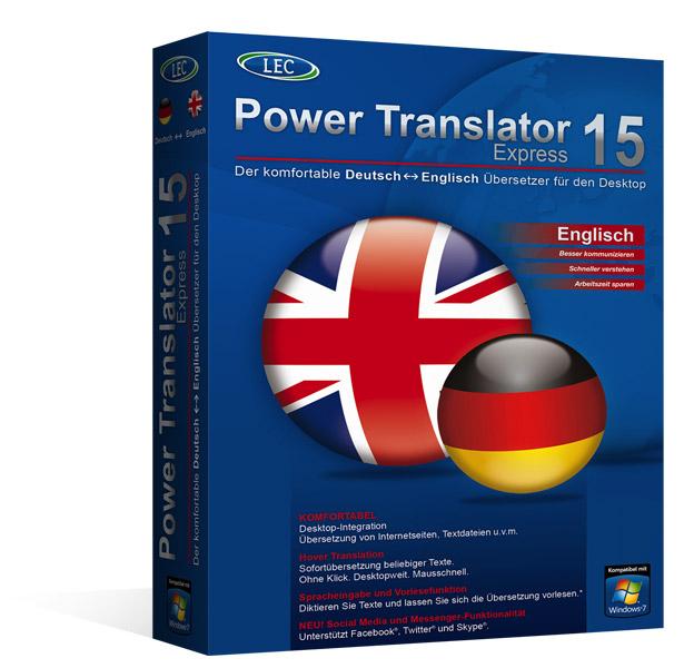 power translator 15 express bersetzungssoftware. Black Bedroom Furniture Sets. Home Design Ideas