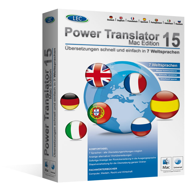 Power Translator für Mac™