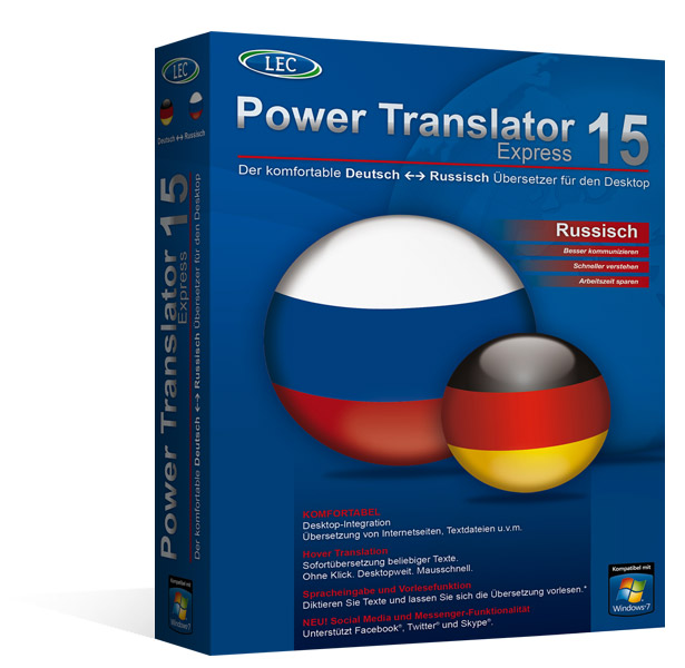 Power Translator 16 Express Deutsch-Russisch