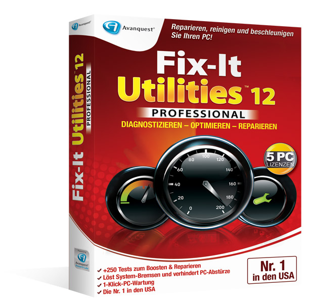 Fix-It Utilities 12 Professional - Upgrade