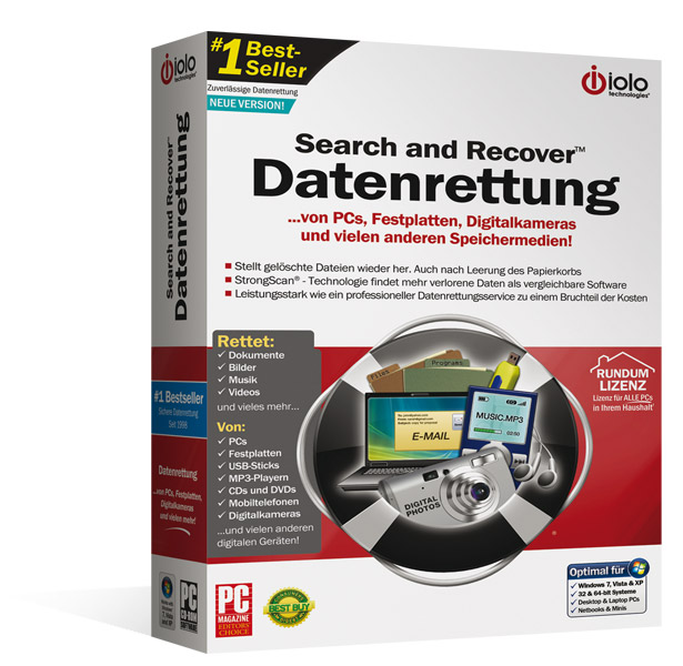 Search & Recover - Datenrettung
