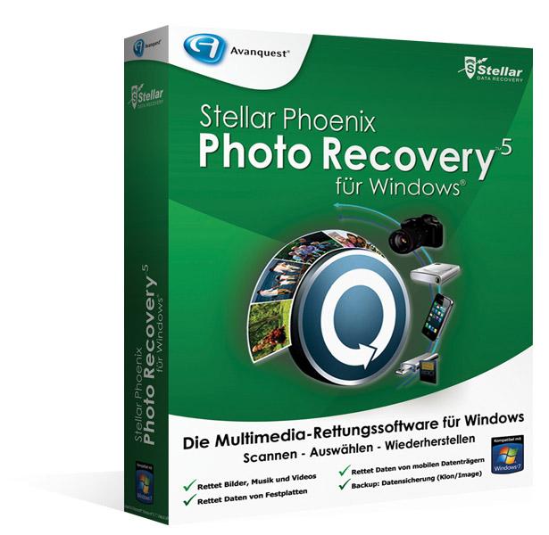 Stellar Phoenix Photo Recovery5 - Upgrade