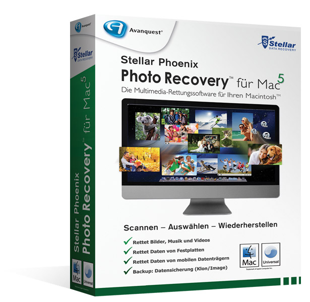 Stellar Phoenix Photo Recovery5 Mac - Upgrade