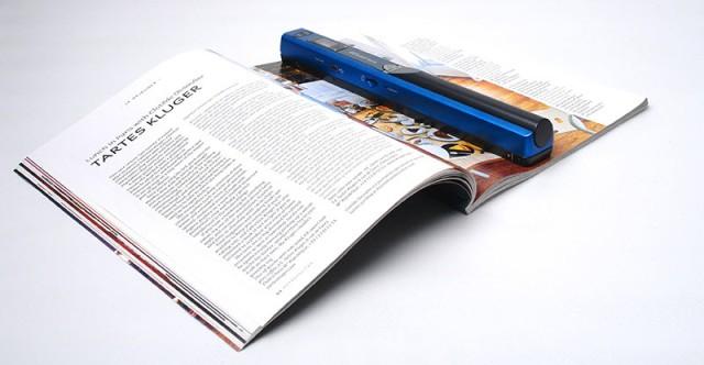 Scannen Sie ohne PC aus Büchern und Zeitschriften!