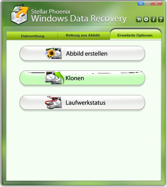 Finden& retten Sie gelöschte Dateien