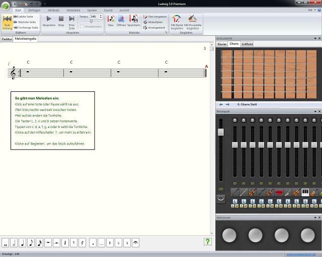 Musik auf Knopfdruck komponieren, arrangieren und abspielen