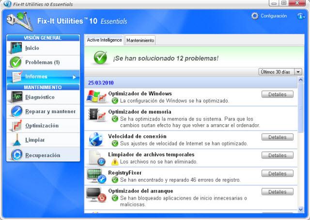 ¡Repara, optimiza y limpia tu ordenador en sólo unos clics!