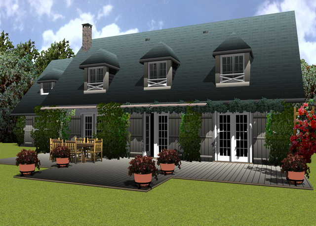 La solución doméstica perfecta para el diseño de interiores y exteriores 3D