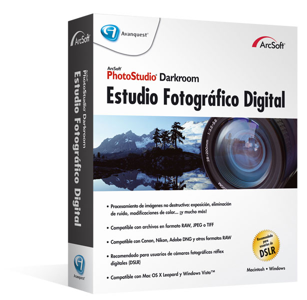 Arcsoft PhotoStudio Darkroom para Mac