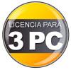 Licencia para 3 PC