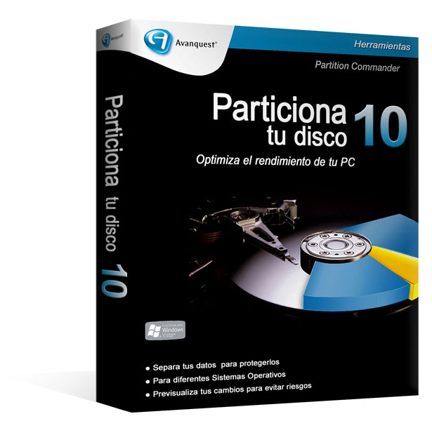 Partition Commander 10