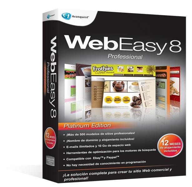 WebEasy8 Professional - Platinum Edition