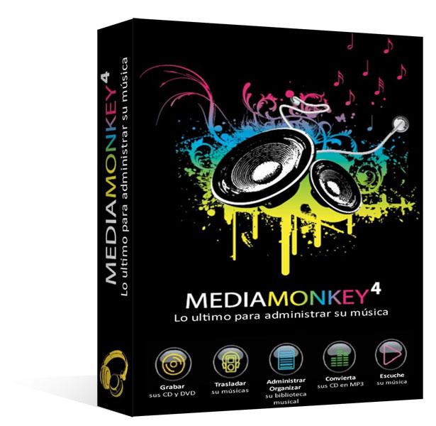 Gestione su música MP3 - MediaMonkey 4