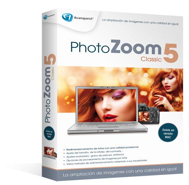 PhotoZoom Classic5 para Windows