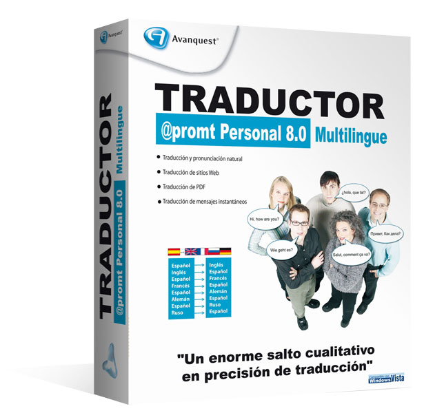 Traductor @Promt Personal 8.0 Multilingüe