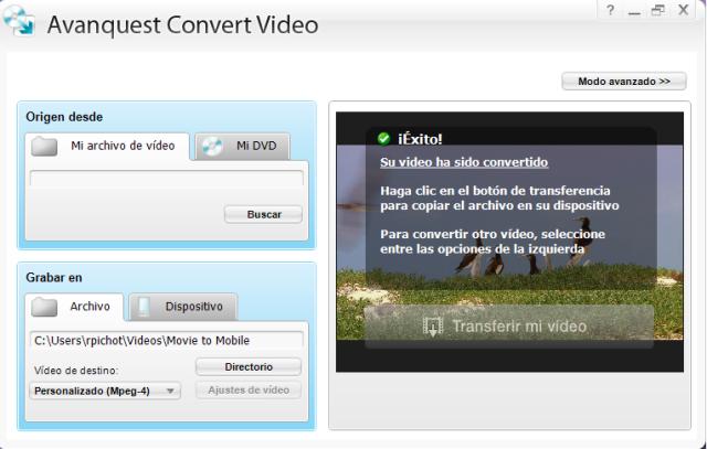 ¡La conversión video nunca fue tan fácil!