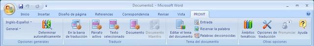 Los plug-ins especiales integran opciones completas de traducción dentro de las aplicaciones Microsoft Office 2000/XP/2003/2007 Word, Excel, Outlook, PowerPoint y FrontPage.