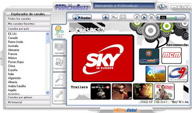 ¡Más de 1,000 canales de TV en tu PC!